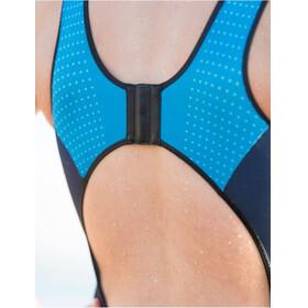 Santini Sleek Plus 776 Sleeveless Trisuit Women turquoise